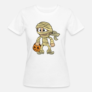 Zombie Kids Halloween Kids Monster Zombie Costume Mummy - Camiseta ecológica mujer