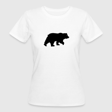 Black Bear Black Bear Grizzly Bear zwart - Vrouwen Bio-T-shirt
