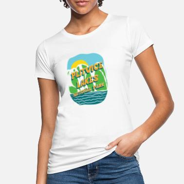 Nationalpark Plitvice Lakes National Park - Kroatien - Ekologisk T-shirt dam