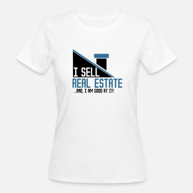 Immobilier Immobilier - Agent immobilier - T-shirt bio Femme