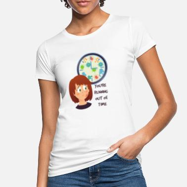 time is running - Women's Organic T-Shirt