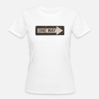 One Way one way - Women's Organic T-Shirt