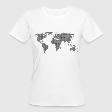 Black World - Frauen Bio-T-Shirt