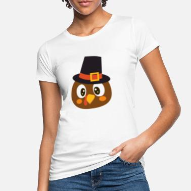 Dinde De Thanksgiving dinde de Thanksgiving - T-shirt bio Femme