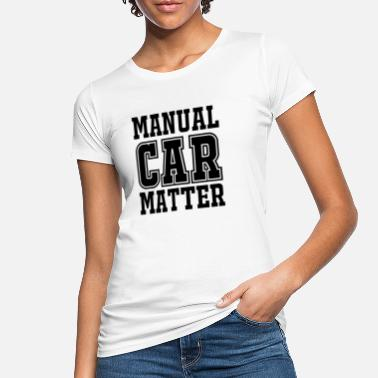 Manual Manual Car Matter - Ekologisk T-shirt dam
