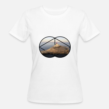 3d Effect Lighthouse 3D effect - Women's Organic T-Shirt