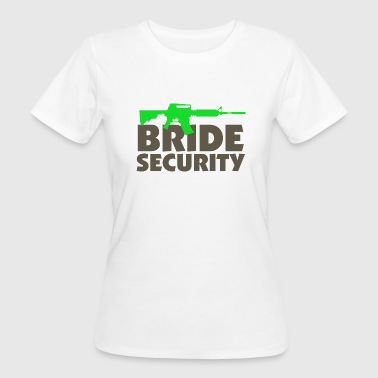 Security Team of the Bride - Women's Organic T-shirt