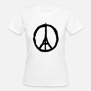 Pray For Paris Pray for Paris - T-shirt bio Femme