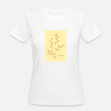 Autumn Leaves Autumn Leaves Autumn Angel - Women's Organic T-Shirt