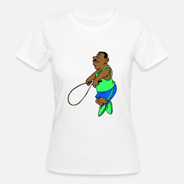 Ropes Course jumping jump rope skipping - Women's Organic T-Shirt