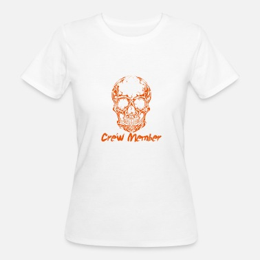 One Nation Lovemobile 2018 Crew Member Skull - Vrouwen Bio-T-shirt