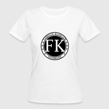 Label Record FK Records - T-shirt bio Femme