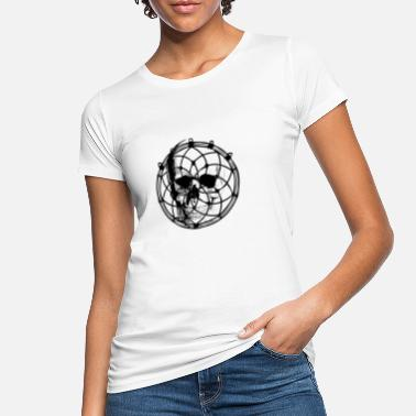 Dreamcatcher Skull Dreamcatcher Skull Dead Skeleton Mystic Magic - Women's Organic T-Shirt
