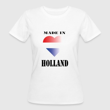 Rood Wit Blauw made in HOLLAND - Vrouwen Bio-T-shirt