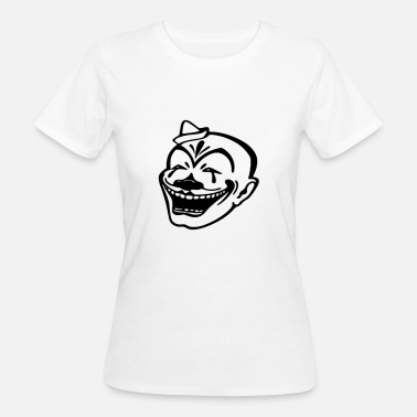 Helden Cape clown held - Vrouwen Bio-T-shirt