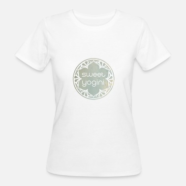 Silver Sweet Yogini Silver / Silver - Camiseta ecológica mujer
