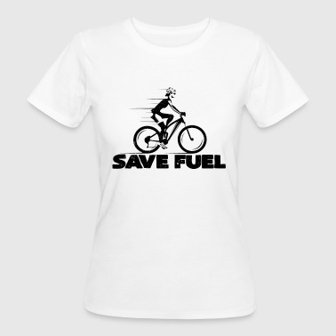 Save Gasoline Spare gasoline | Bicycle bicycles cyclists - Women's Organic T-Shirt