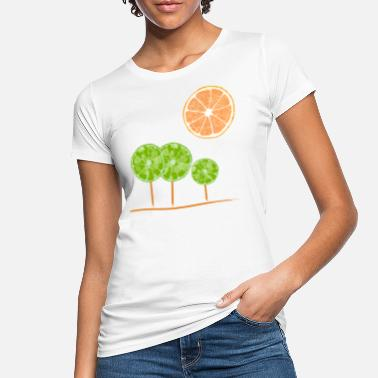 Fruta just another lemon tree - Camiseta orgánica mujer