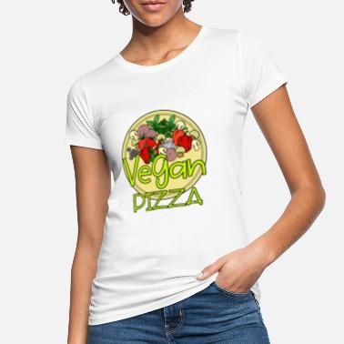 Pizza Pizza Design: Vegan Pizza - Women's Organic T-Shirt
