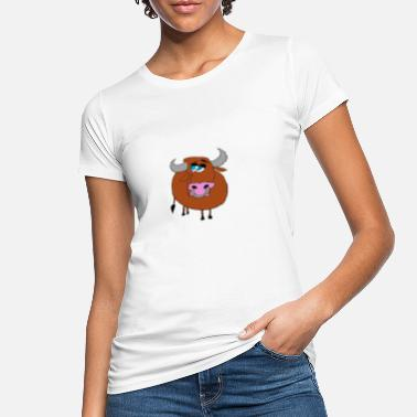 Bull, The Crazy Bull - Ekologisk T-shirt dam