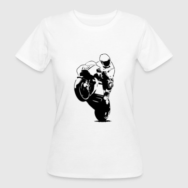 Moto-GP Racing - T-shirt ecologica da donna