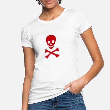 Danger Sign danger - Frauen Bio T-Shirt