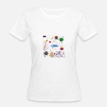 Second Farbklecks Second - Vrouwen Bio-T-shirt