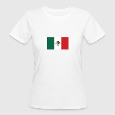 Nationalflagge von Mexiko - Frauen Bio-T-Shirt
