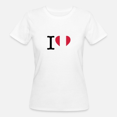Lake Titicaca I Love Peru - Women's Organic T-Shirt
