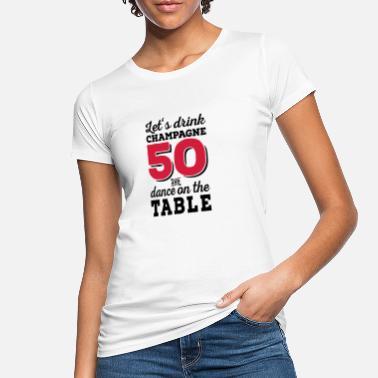 50th Birthday 6061912 120173515 50 - Women's Organic T-Shirt