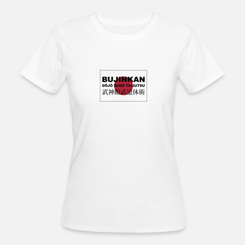 Japan T-Shirts - bujinkan - Women's Organic T-Shirt white