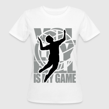Volley-ball Volleyball Volley   - T-shirt bio Femme