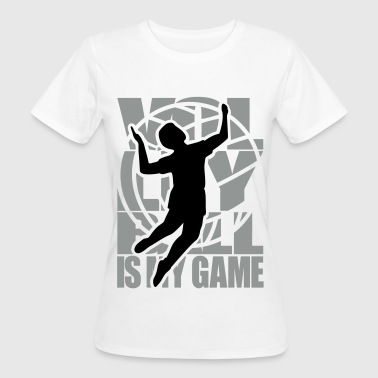 Volleyball Volley   - Women's Organic T-shirt