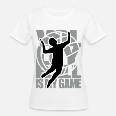 Beach Volleyball Volleyball  Volleyballer  - Frauen Bio-T-Shirt