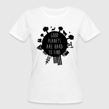 Planet Earth - Frauen Bio-T-Shirt