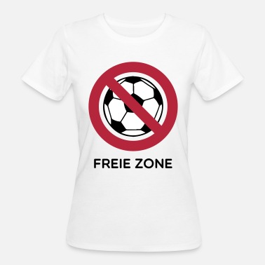 Anti Fussball Anti Fussball - Frauen Bio-T-Shirt