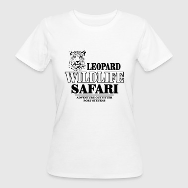 Leopard Wildlife Safari - Frauen Bio-T-Shirt