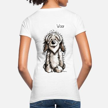 Caricature Funny Havanese - Dog - Dogs - Comic - Women's Organic T-Shirt