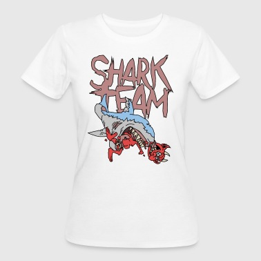Shark Team - Frauen Bio-T-Shirt