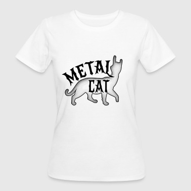 Metal Kat - Rock Cat - Organic damer