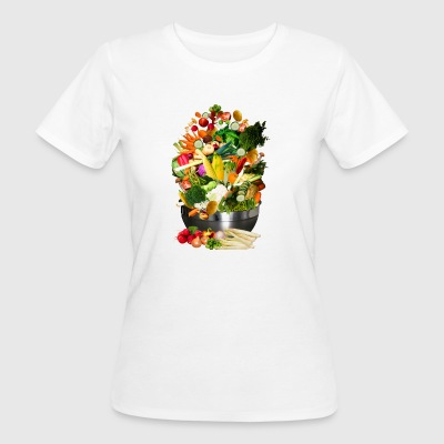 VEGAN COLLECTION - Ekologisk T-shirt dam