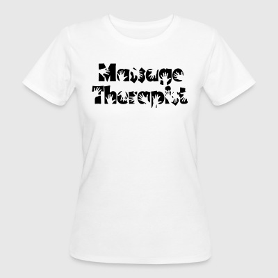 massage Therapeut - Vrouwen Bio-T-shirt