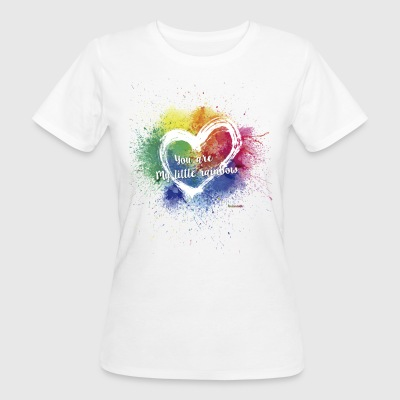 Little Rainbow T - Vrouwen Bio-T-shirt