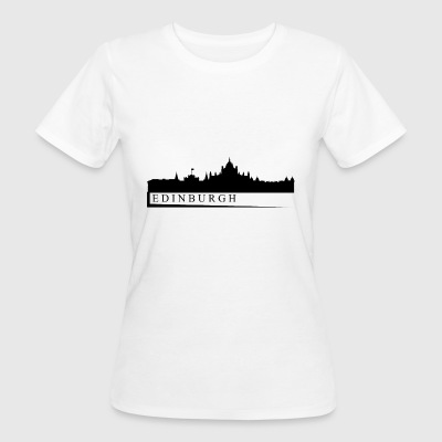 Edinburgh Skyline - Frauen Bio-T-Shirt