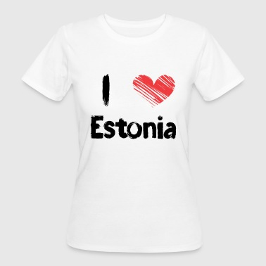 I love Estonia - Women's Organic T-shirt