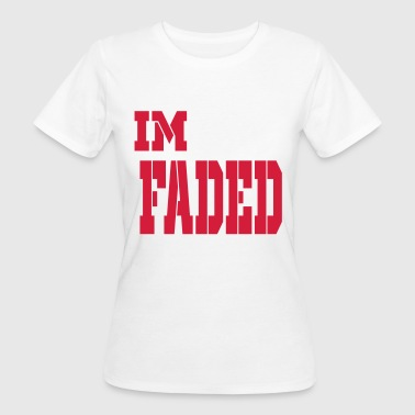 im faded - Women's Organic T-shirt