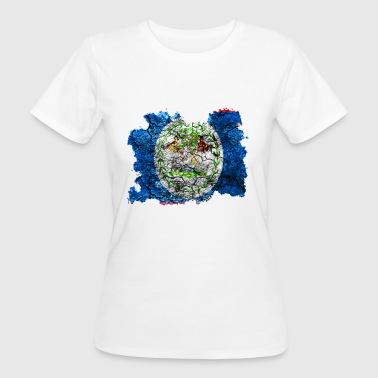 Belize vintage flag - Women's Organic T-shirt