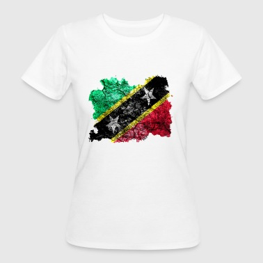 St. Kitts and Nevis vintage flag - Women's Organic T-shirt