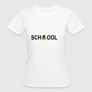 School - Frauen Bio-T-Shirt