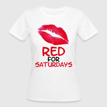 Red for saturdays - Camiseta ecológica mujer